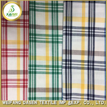 yarn dyed 100 cotton poplin men's shirt fabric wholesale