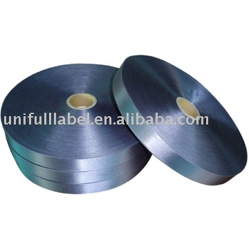 Woven Edge Polyester Satin Ribbon