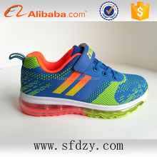 New designer air cushion sole kids shoes sport children's sports shoes 2016