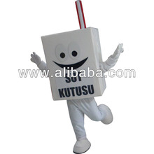 Custom Made Recycled Milk Box Mascot Costume