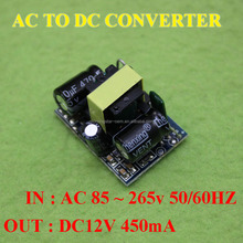 China Manufactory - DC 12V 400mA isolation switch power supply module AC-DC buck converter 220V to dc 12V / 5V 450mA 5W