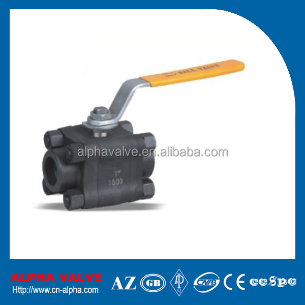 3PC SW Forged Ball Valve