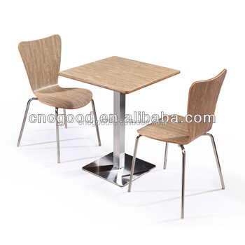 Cheap Dining Table And 2 Chairs Fast Food Chinese