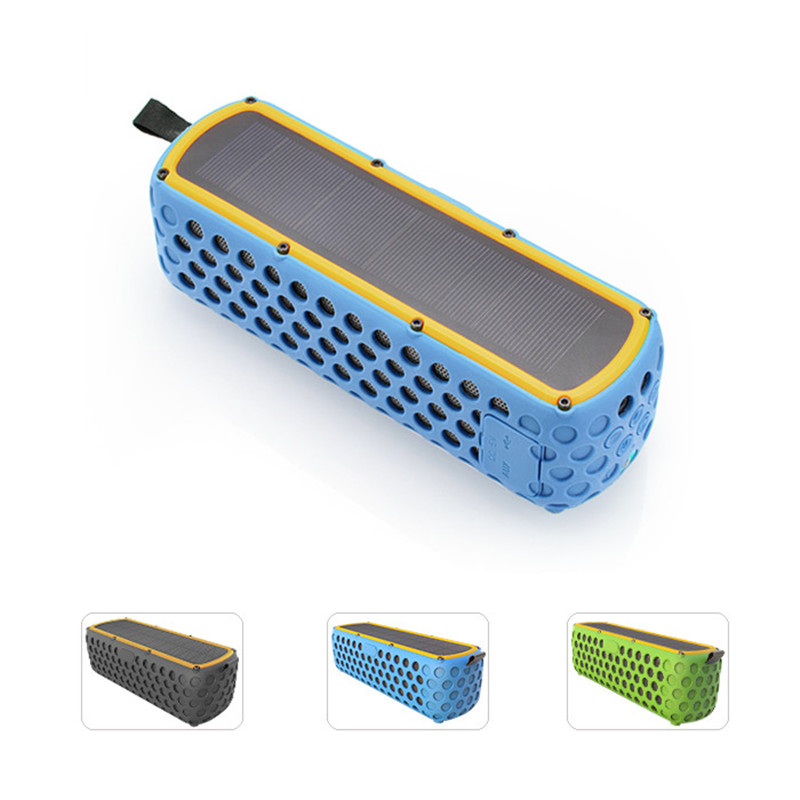 2017 trending products portable rohs bluetooth speaker for phone with silicone case