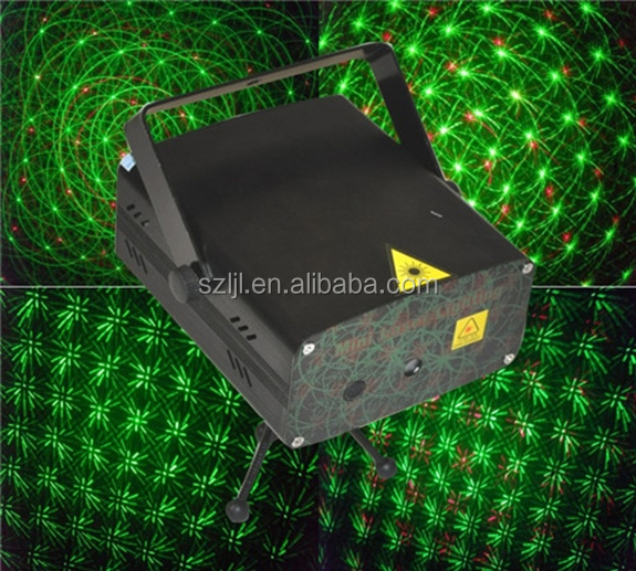 Ce& RoHS New design Red& green Mini laser light effect mini stage laser light disco