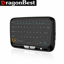 Fashion Wireless Keyboard H18 Mini 2.4G Wireless Touchpad Keyboard Mouse full screen touchpad