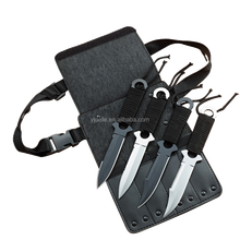 4Pcs Survival Multifunction Purpose Tactical Diving Knife