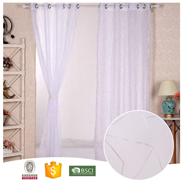 Newest Design For Home-use Beautiful door window curtains