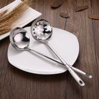 Different types of stainless steel soup ladle / Strainer Ladle