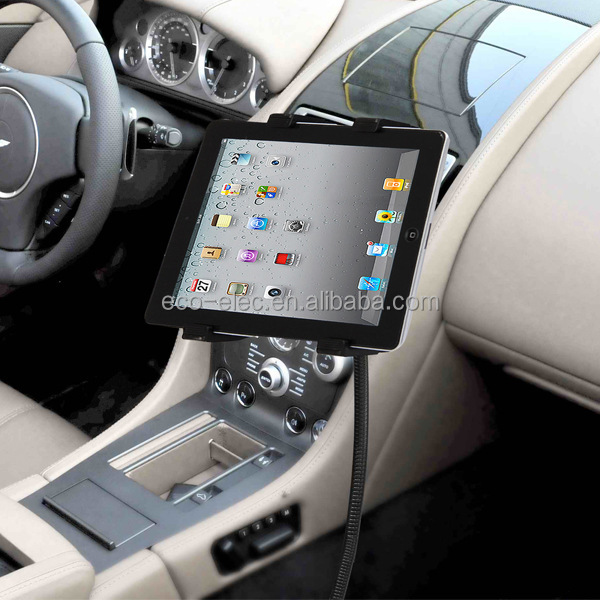 "Car Floor Seat Bolt Mount Gooseneck Holder Stand for iPad Samsung Galaxy Tab and 7-10"" Tablet PC Universal Kits"
