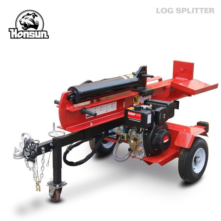 Hot sale!firewood processor ariens high quality electric start Kohler engine wood splitter with diesel power
