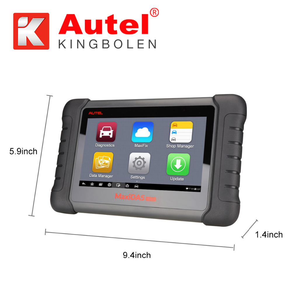 Autel MaxiDAS DS808 Automotive Diagnostic and Analysis System supports Android system UPDATE VERSION from Autel DS708