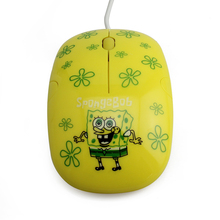 best wired small computer Spongebob wireld mouse as gift