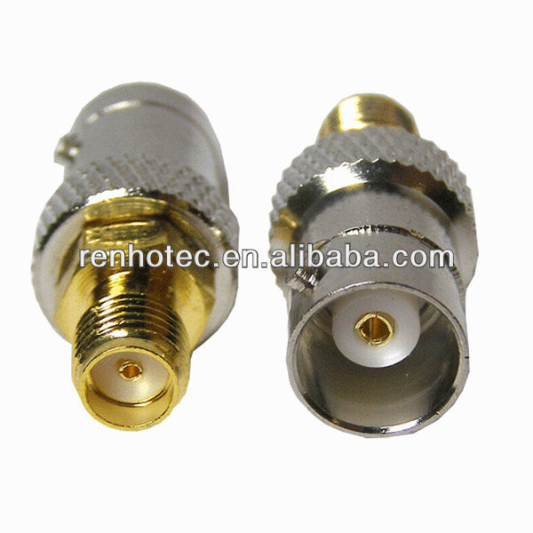 Factory price sma female to bnc connector bnc male/female to sma female connector