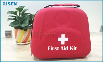 2017 Wholesales High Capacity Storage convenient Portable Emergency Waterproof Travel First Aid Kit