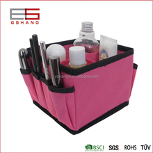 alibaba hot sale 4 dividers cosmetic denture storage box
