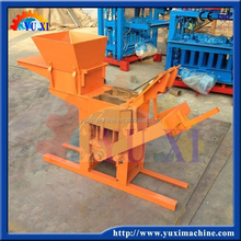 High profit energy saving small cheap and hot selling in 2015 mud interlocking brick clay machine
