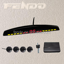 LCD disply reverse parking sensor radar detector system