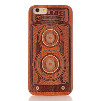 2016 New design lasered engraved pc + wood grain case for iphone 5 china wholesale