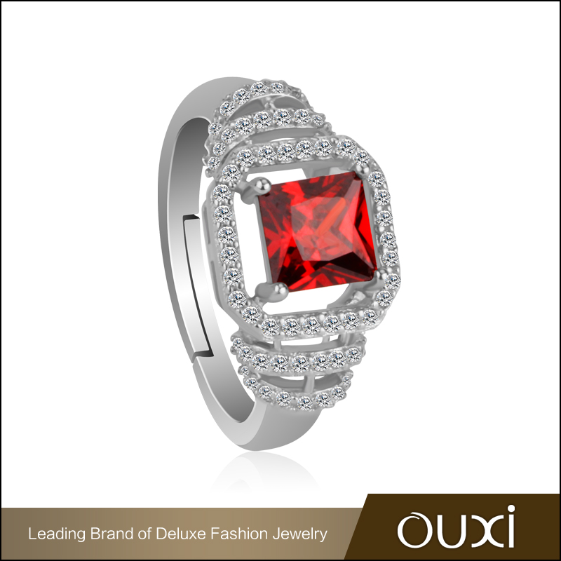 Ouxi fashion jewelry high end silver engagement ring buy for High end fashion jewelry