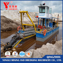 Low price! cutter suction dredger cutter head sand suction dredger