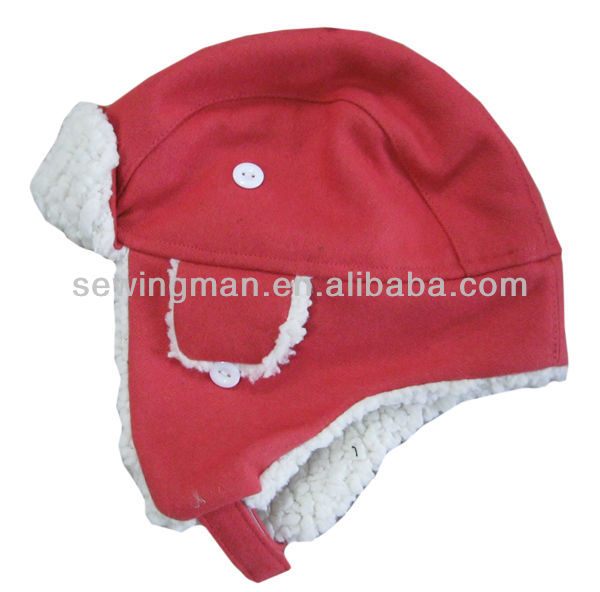 Kids trapper wool mixed winter hat