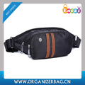 Encai Fashion Sports Black Waist Bags Outdoor Leisure Waist Pack