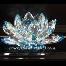 blue crystal lotus