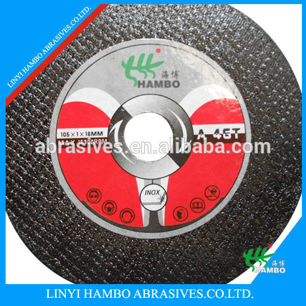 "ISO 150X3.0x22.2mm (7/8"") Cutting wheels for stainless steel & alloy steel Type 41/42"