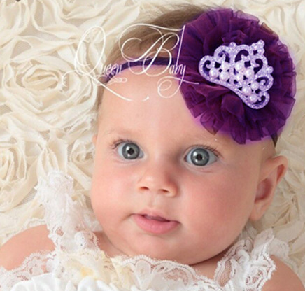 Cute Lovey Baby Pink Flower Headwear Hair Band Infant Toddler Girl Headband 2017