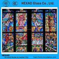 HEXAD customized plastic stained glass sheets