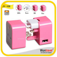High quality custom gift items for advertising/promotion/company,CE,ROHS approved electric/promotional gift world travel adapter