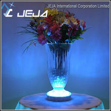 JEJA Western weddings and event tables decorations Led Remote Controlled Under Vase Light Base table center pieces for Western