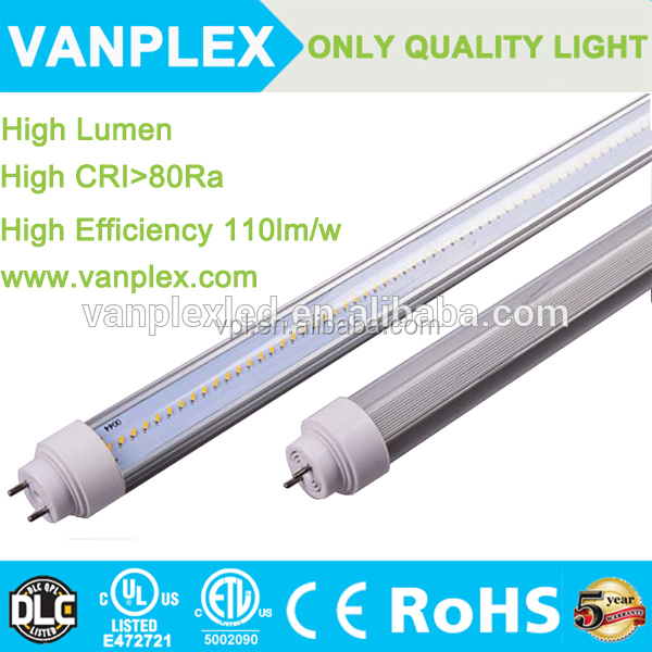 8ft 36W high power Double sided price led tube light t8 With CE ROHS ETL