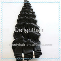 2013 New Style 24 inch Virgin remy brazilian Hair Weft