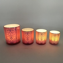 Different types of candle holders decorative candle containers