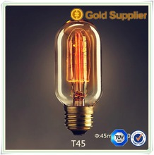 Bar for indoor decoration edison bulbs T45 T30 T38 ST64 edison light bulbs 15W25W40W60W edison lights E26 E27 B22 E14