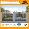 DK020 Powder coated security metal fence panel for villa