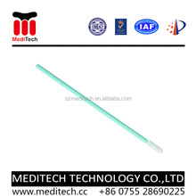 New design disposable Elbow head 100% Polyester Cleanroom Swab PS768 for E-Cigarette