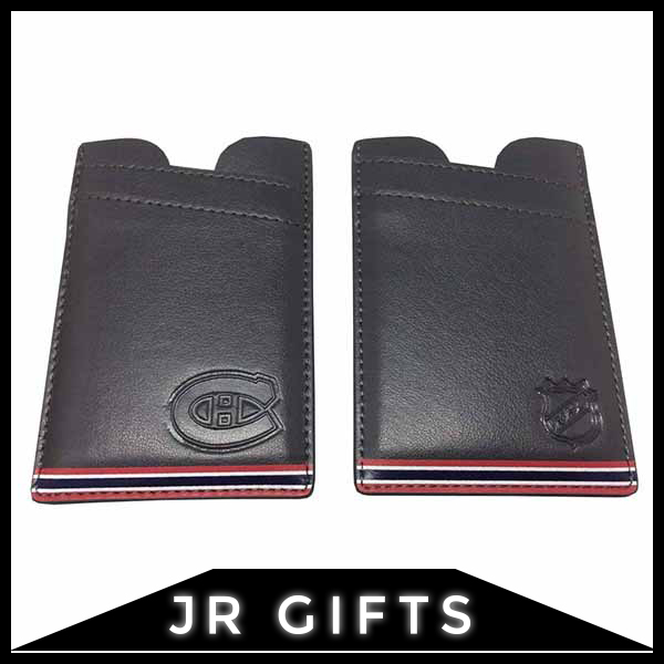 OEM Welcome Dark Grey Leather wallet for men