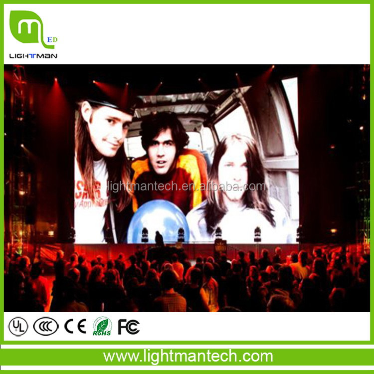 Good feature new import p4 indoor high definition led display