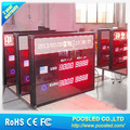 red led currency exchange rate board \ led electronics currency board for bank sign \ small bank currency rate led board