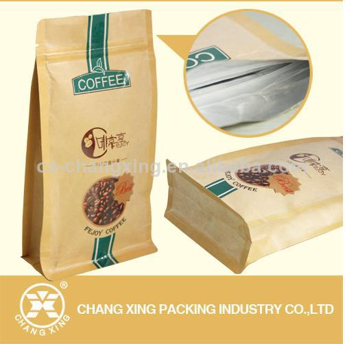 side gusset coffee bag for coffee packaging