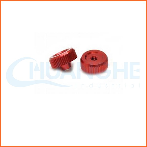Chuanghe supplier precision knurled m6 thumb nut
