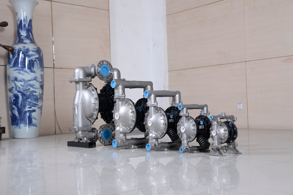 Stainless Steel Pneumatic Double Diaphragm Circul Air Pump