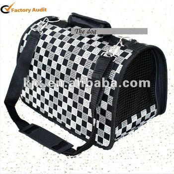 fashion foldable/ portable/ pet dog carrier bag,house,kennel