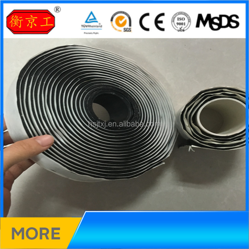 Jingtong Double Sided Adhesive Side and Antistatic Feature butyl rubber tape