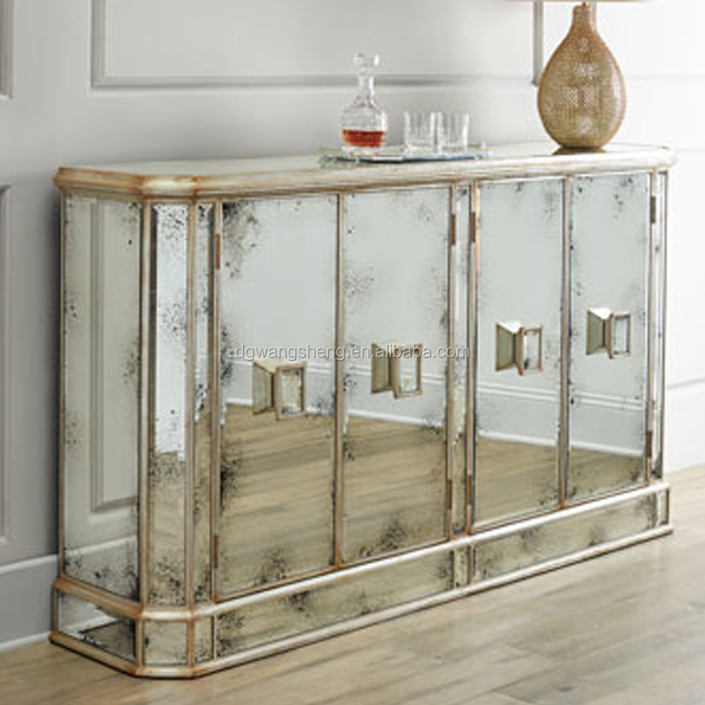 high quality mirror wine cabinet