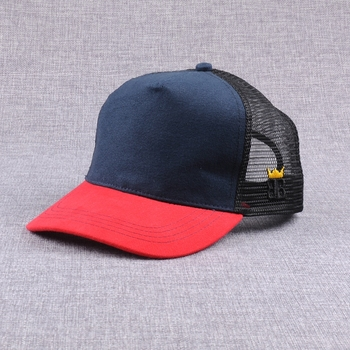 Wholesale 5 panel denim blank trucker hats bulk sales in china