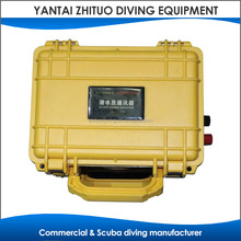 Underwater commercial diving communication unit system